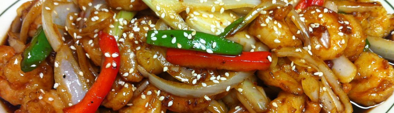 Teriyaki Sautee Shrimp